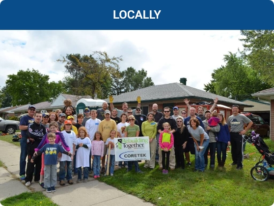 Coretek Services - Locally Community Involvement