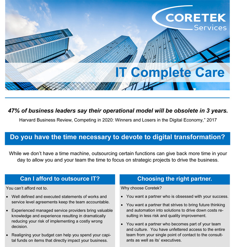 IT Complete Care White Paper Cover