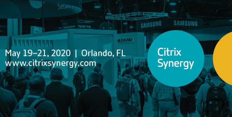 Citrix Synergy 2020 - goes virtual