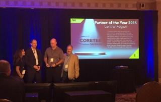 Coretek Services Named AppSense 2015 Partner of the Year, Central Region