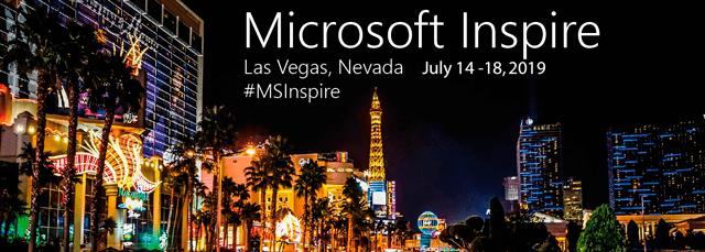 Microsoft Inspire 2019, Las Vegas, NV