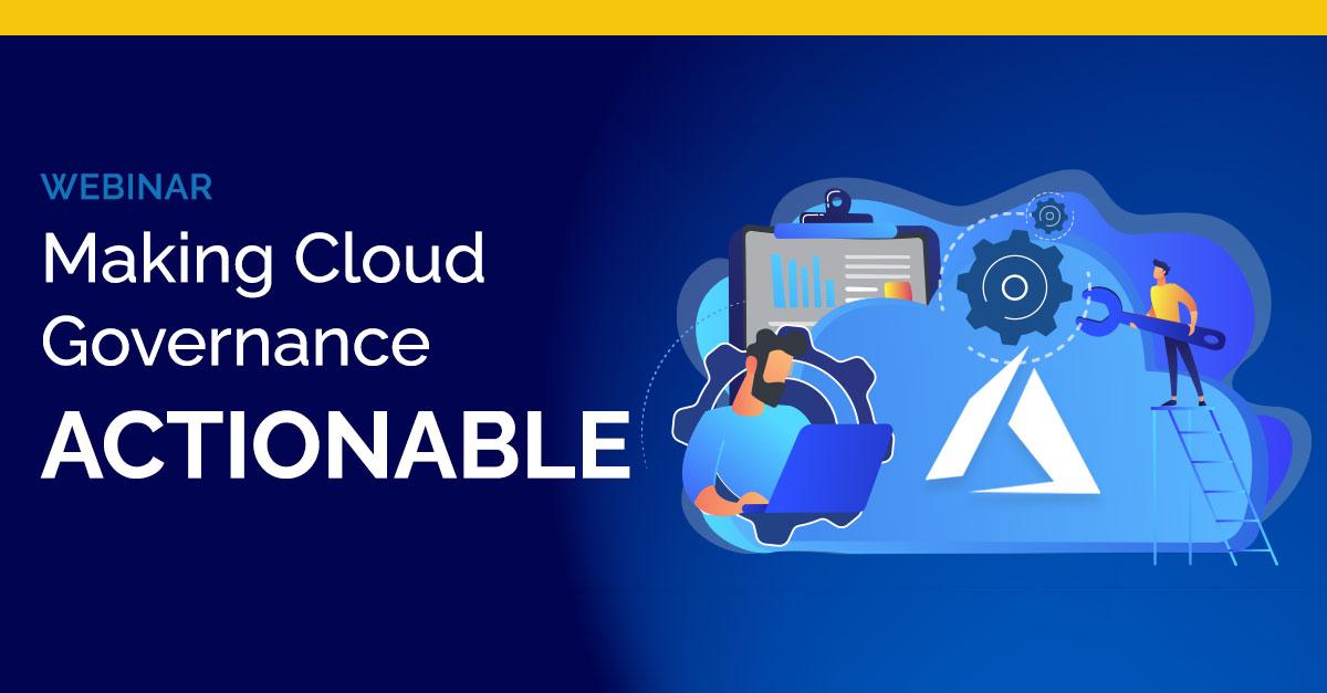 Making Cloud Governance Actionable Logo