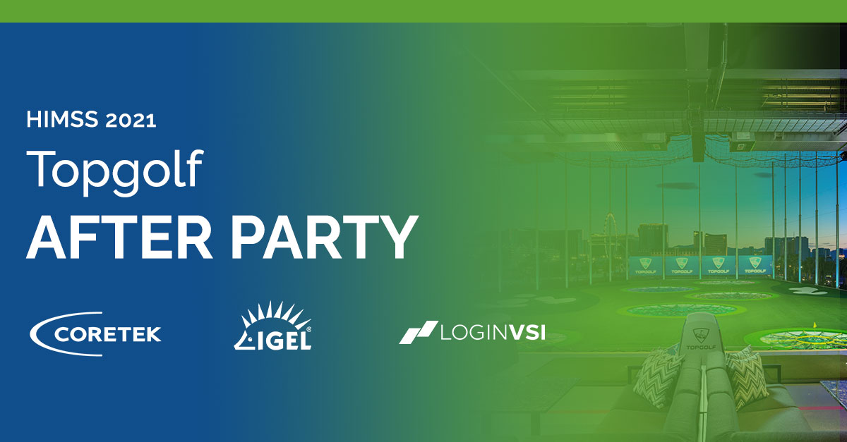 HIMSS 2021 Topgolf After Party Logo