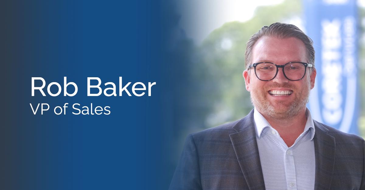Rob Baker Joins Coretek as VP of Sales