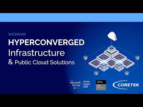 Hyperconverged Infrastructure & Public Cloud Solutions Webinar