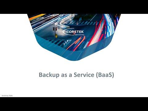 Backup as a Service (BaaS)