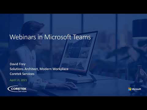How to Run a Webinar for 1000 Attendees in Microsoft Teams