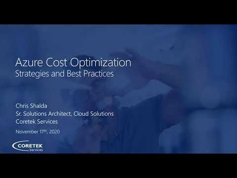 Azure Cost Optimization Part 1