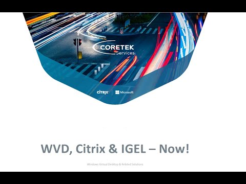 IGEL & Windows Virtual Desktop WVD