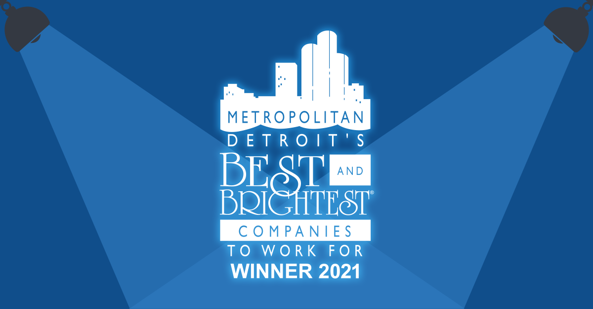 Coretek Listed 13 Consecutive Years as Metro Detroit's Best & Brightest Companies