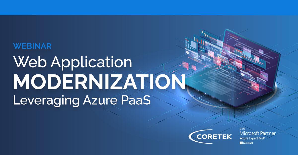 Web Application Modernization Leveraging Azure PaaS